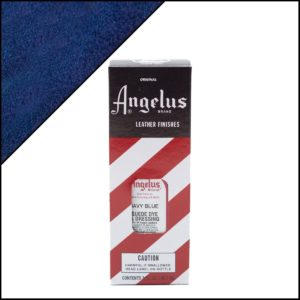 Темно-синяя краска для замши и нубука Angelus Suede Dye 3 oz – Navy Blue 042