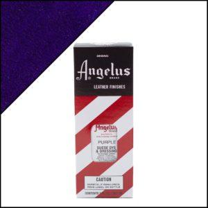 Фиолетовая краска для замши и нубука Angelus Suede Dye 3 oz – Purple 047