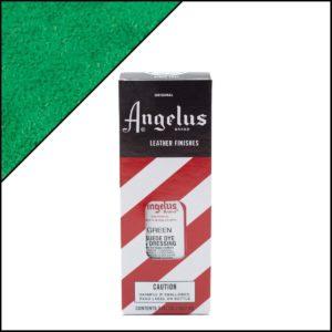 Зеленая краска для замши и нубука Angelus Suede Dye 3 oz – Green 050
