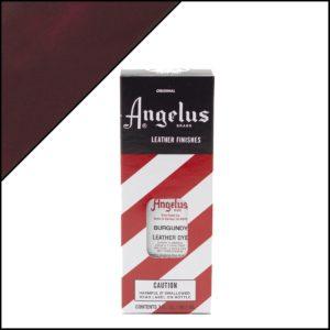 Бордовая краска для кожаных кроссовок Angelus Leather Dye 3 oz – Burgundy 060