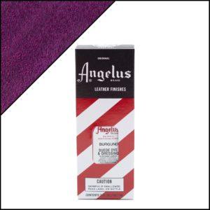 Бордовая краска для замши и нубука Angelus Suede Dye 3 oz – Burgundy 060