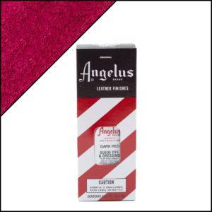Темно-красная краска для замши и нубука Angelus Suede Dye 3 oz – Dark Red 061