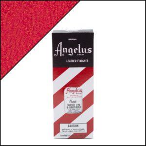 Красная краска для замши и нубука Angelus Suede Dye 3 oz – Red 064
