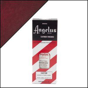 Коричнево-красная краска для кожаных кроссовок Angelus Leather Dye 3 oz – Winetone 065