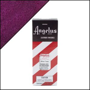 Фиолетовая краска для замши и нубука Angelus Suede Dye 3 oz – Wine Tone 065