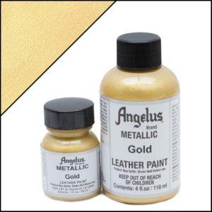 Золотая краска для кроссовок Angelus Metallic 1 oz – Gold 072