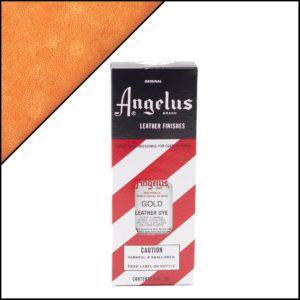 Золотая краска для кожаных кроссовок Angelus Leather Dye 3 oz – Gold 072