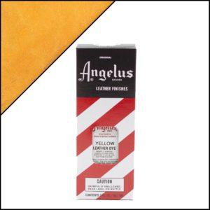 Жёлтая краска для кожаных кроссовок Angelus Leather Dye 3 oz – Yellow 075