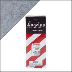 Тёмно-серая краска для замши и нубука Angelus Suede Dye 3 oz – Dark Grey 080