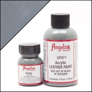Серая краска для кроссовок Angelus 1 oz, укрывная – Grey 081
