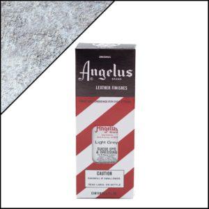 Светло-серая краска для замши и нубука Angelus Suede Dye 3 oz – Light Grey 082