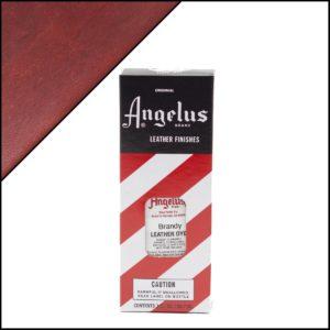 Коричневая краска для кожаных кроссовок Angelus Leather Dye 3 oz – Brandy 092