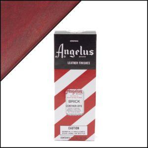 Рыжая краска для кожаных кроссовок Angelus Leather Dye 3 oz – Brick 093