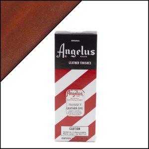 Коричневая краска для кожаных кроссовок Angelus Leather Dye 3 oz – Russet 095