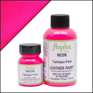 Кислотно-розовая краска для кроссовок Angelus Neon 1 oz – Tahitian Pink 121