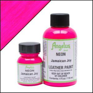 Кислотно-розовая фуксия краска для кроссовок Angelus Neon 1 oz – Jamaican Joy 122