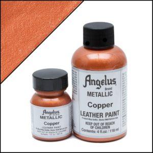 Медная краска для кроссовок Angelus Metallic 1 oz – Copper 141