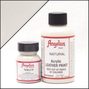 Белая краска для кроссовок Angelus 1 oz, укрывная – Natural 161