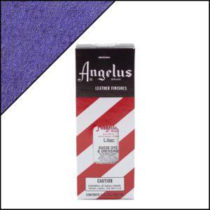 Лиловая краска для замши и нубука Angelus Suede Dye 3 oz – Lilac 175