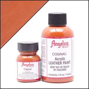 Коричневая краска для кроссовок Angelus 1 oz, укрывная – Cognac 180