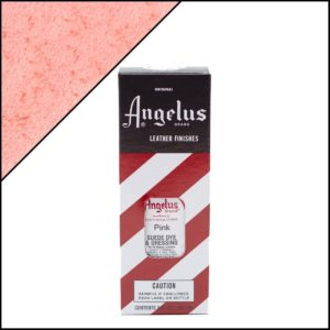 Розовая краска для замши и нубука Angelus Suede Dye 3 oz – Pink 188