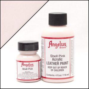 Бело-розовая краска для кроссовок Angelus 4 oz, укрывная – Snell Pink 191