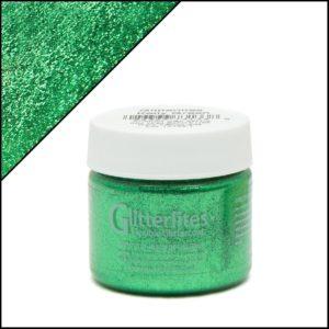 Зеленая краска для кроссовок с блёстками Angelus Glitter – Kelly Green 234