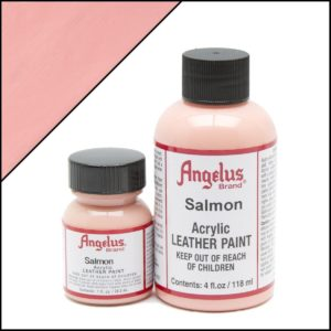 Бледно-розовая краска для кроссовок Angelus 1 oz, укрывная – Salmon 267