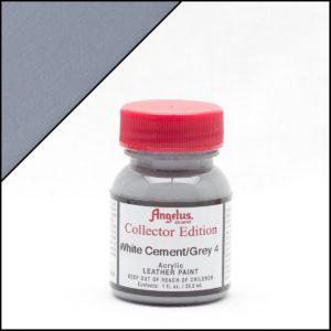 Серая краска для кроссовок Angelus Collector Edition 1 oz – White Cement 314