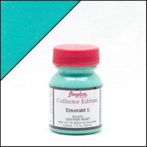 Бирюзовая краска для кроссовок Angelus Collector Edition 1 oz – Emerald 317