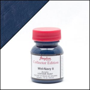 Темно-синяя краска для кроссовок Angelus Collector Edition 1 oz – Mid Navy 8 323