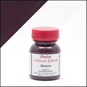 Темно-бордовая краска для кроссовок Angelus Collector Edition 1 oz – Maroon 336