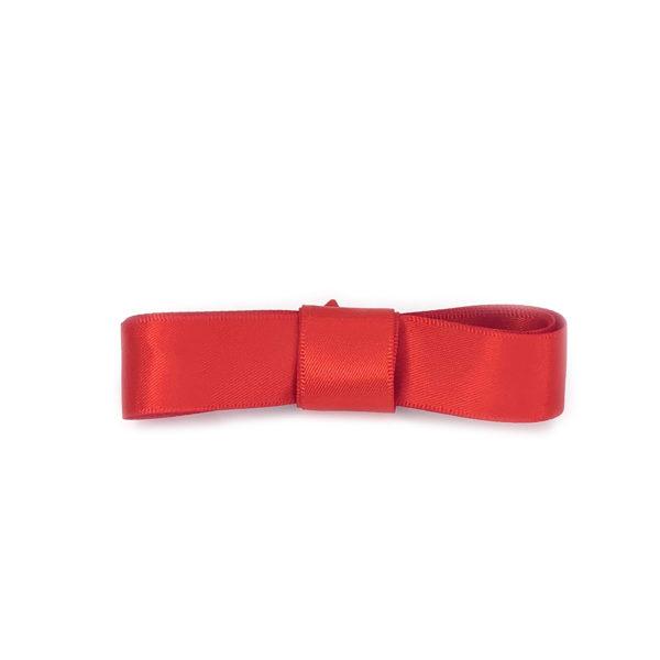 Атласные шнурки 100 см, ширина 2 см -Красные