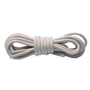 Круглые вощеные шнурки 90см- Белые