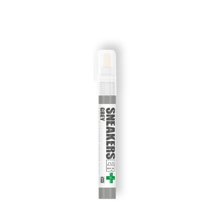 Grey paint marker solid wood