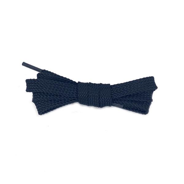 Плоские шнурки 100 см – Черные