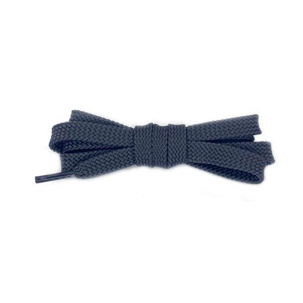 Плоские шнурки 120 см – Серые