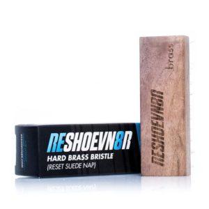 Щетка для чистки кроссовок из замши и нубука с медной щетиной Reshoevn8r Suede Brush