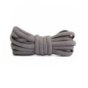 Шнурки овальные 120см – Светло серые