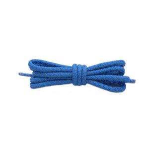 Круглые светоотражающие шнурки 120см – Голубые