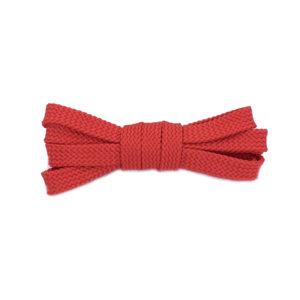 Плоские шнурки 100 см – Красные