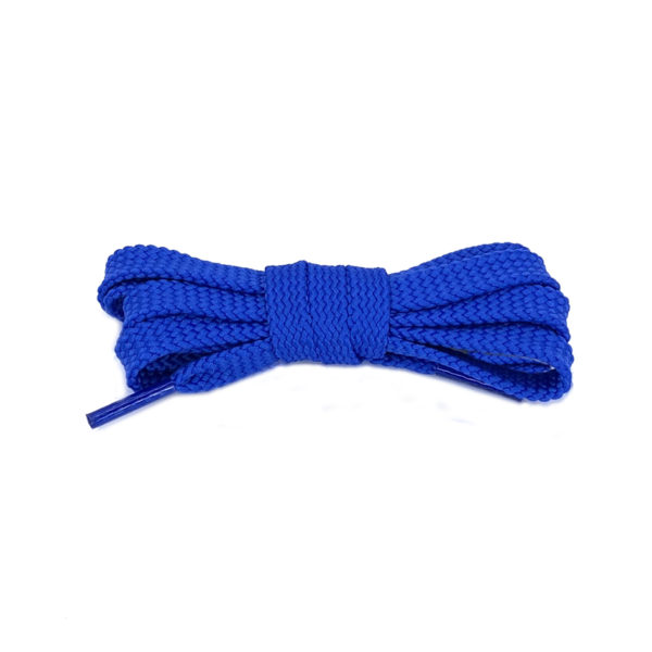 Плоские шнурки 120 см – Синие