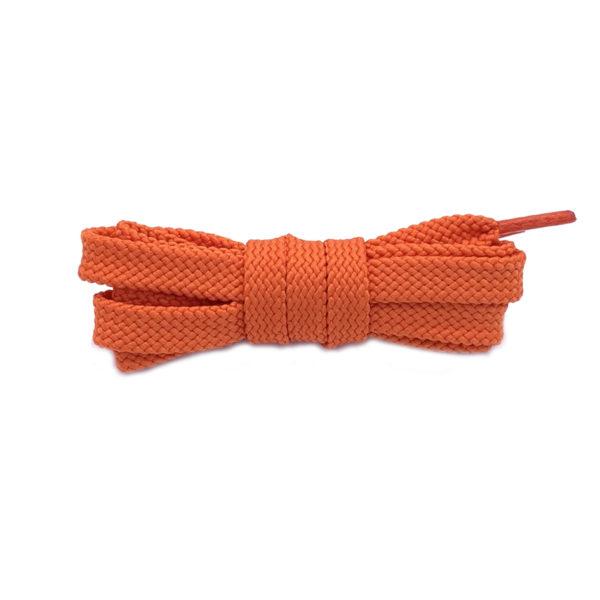 Плоские шнурки 120 см – Оранжевые