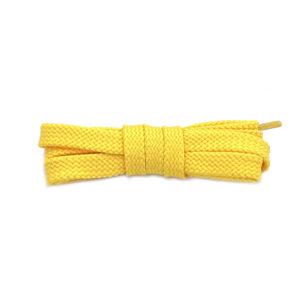 Плоские шнурки 120 см – Желтые