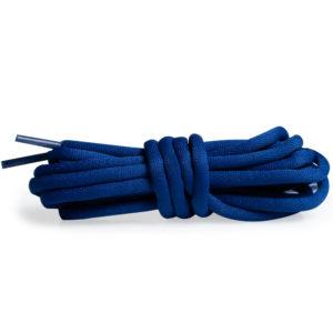 Круглые гладкие шнурки 120см – Синий сапфир