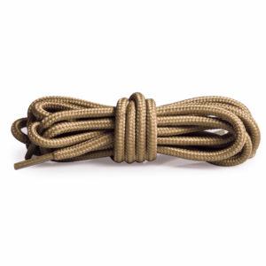 Круглые плетеные шнурки 120см – Бежевый