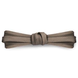 Плоские шнурки 100 см, ширина 9мм – Серо-коричневые