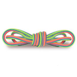 Круглые гладкие шнурки 120см – Мультиколор