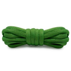 Шнурки овальные 120см –  Ярко-зеленые
