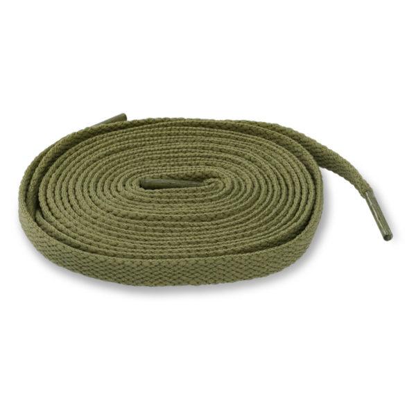 Шнурки плоские 120см – Хаки